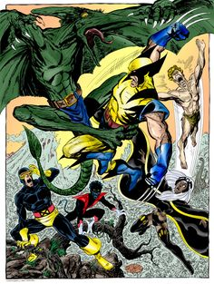 X-Men vs Sauron by John Byrne