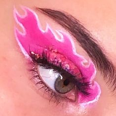 Cute Makeup Looks, Makeup Eye Looks, Eye Makeup Art, Crazy Makeup, Pretty Makeup, Skin Makeup, Makeup Inspo, Eyeshadow Makeup, Eyeliner