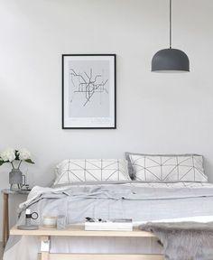 12 Drool Worthy White & Grey Bedrooms | Jane in Pastel