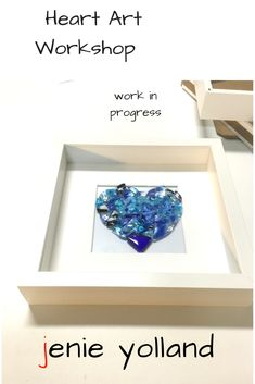 How much do you like the successes from our Heart Art workshop?  Come and make one for yourself.  Can you imagine how much fun you'd have making this piece of glass art?
