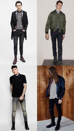 Men's Modern Skinhead-Inspired Outfit Lookbook
