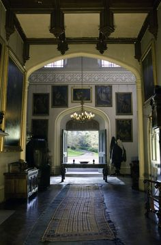 A very English entry hall.