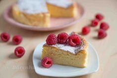 Schnelle fluffige Souffle Torte