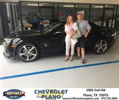 https://flic.kr/p/Gcxrd2 | Happy Anniversary to Fawna on your #Chevrolet #Camaro from Edward Burford at Huffines Chevrolet Plano | deliverymaxx.com/DealerReviews.aspx?DealerCode=NMCL