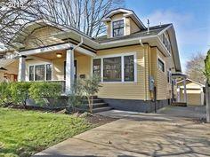 Sunny Irvington Bungalow Oregon House, Portland Oregon, Bungalow, Houses, House Design, Mansions, Architecture, House Styles, Home Decor