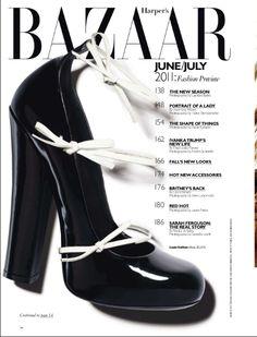 Harpers Bazaar. Now that is one sexy TOC
