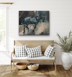 Pascale Chandler | Equine Lockdown (2020) - horse art available for sale | StateoftheART