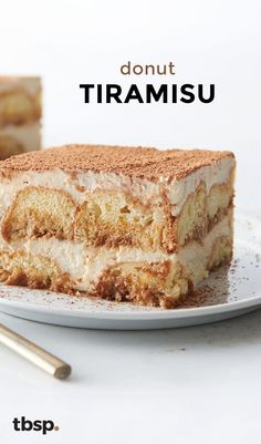Swap ladyfingers for powdered donuts in this fun and easy tiramisu!
