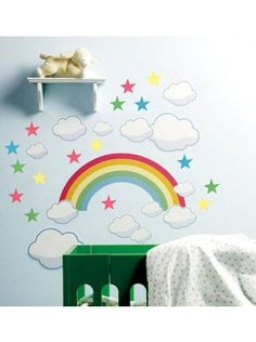107bc724a LARGE HELLO KITTY KIDS WALL STICKERS GIRLS BEDROOM WALL STICKERS BEDROOM  DECOR