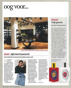 This weekend we are featured in the weekend edition of the Dutch Financial paper with the opening of our third Pauw Mannen store.