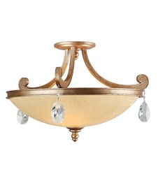 Corbett Lighting 71-56 Roma 6lt Island In Antique Roman Silver
