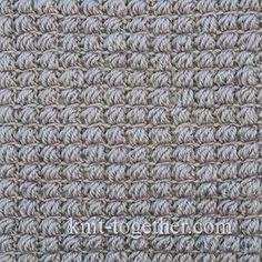 Crochet Stitches Description : Crochet Puff Stitch Pattern - photo, description and crochet chart ...