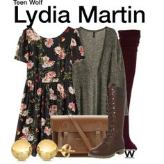Wear What You Watch • Inspired by Holland Roden as Lydia Martin on Teen...