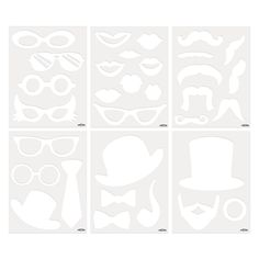 Photo Booth Templates - OrientalTrading.com for DIY photo booth