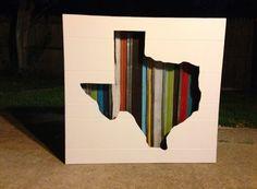 Pots, Pans & Paintbrushes: Reclaimed Texas Art Piece from House Scraps - Part 2