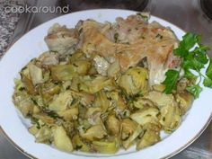 Agnello e carciofi: le Vostre ricette | Cookaround Roasted Vegetables, Potato Salad, Potatoes, Favorite Recipes, Roasts, Meat, Chicken, Ethnic Recipes, Food