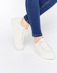 Image 1 of ASOS DODGEMS Flatform Sneakers