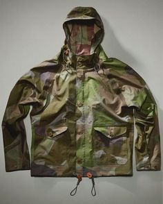 NIGEL CABOURN Camouflage Aircraft Jacket