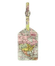 Map Luggage Tag | Travel Accessories | Liberty.co.uk
