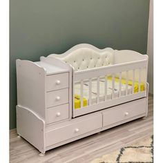 Baby Nursery Neutral, Baby Room Decor, Pierre Cardin, Baby Cribs, Cot, Toddler Bed, Room Ideas, Furniture, Home Decor