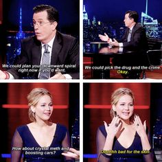 But also where to draw the line. | 31 Reasons Jennifer Lawrence Reigned Supreme Once Again In 2014