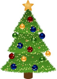 this nice christmas tree with presents clip art can be used for rh pinterest com clip art christmas tree black and white clip art christmas tree decorations