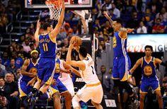 Blog Esportivo do Suíço:  Lanterna dá trabalho, mas Curry sobra, e Warriors obtêm o 13º triunfo seguido