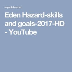 Eden Hazard-skills and