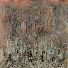 Reidar Särestöniemi  (1925-1981) Light Of Life, Finland, Fiber Art, City Photo, Contemporary Art, Abstract Art, Artsy, Watercolor, Landscape