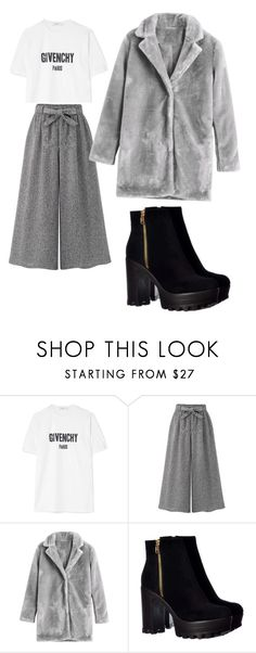 """""""Моно"""" by dahn-pahn on Polyvore featuring мода, Givenchy и WithChic"""