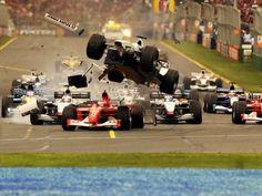 Ralf Schumacher Williams - BMW Crash Australian GP 2002