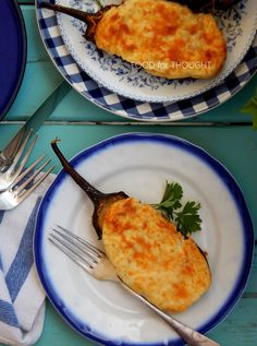 Food for thought: Μελιτζάνες παπουτσάκια