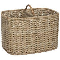 Maine Double Magazine Basket | Freedom Furniture and Homewares