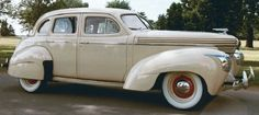 """The 1939 Graham """"Spirit of Motion."""" Quite possibly the most beautiful Art Deco car ever produced."""