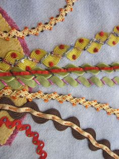 Embellished rick rack from  suespargo.com