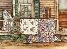 Grandma's Bible quilts by Paula Vaughan
