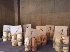 Numeri tavoli osteria