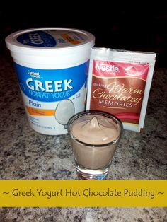 This recipe has become my go-to sweet tooth satisfier! It's so simple and so delicious! Plus, it packs 8 grams of protein and only 90 calories per serving. Just mix 1/4 cup on non-fat plain greek yogurt with one packet of no sugar added hot cocoa mix. Stir until you get a pudding-like consistency and enjoy! Find more recipes like this on our blog at www.hoab.org/blog.