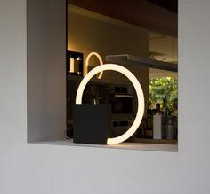 Cirkellamp by Aldo van den Nieuwelaar -Lighting, Table lamps