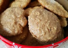 Mogyoróvajas zabpehely keksz Fitt, Cookie Jars, Cookies, Crack Crackers, Biscuits, Cookie Recipes, Cookie, Biscuit