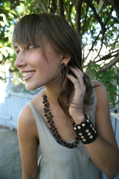 Wooden Earrings Willow -via Etsy.