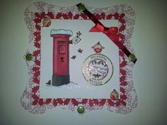 Made with little claires stamp Card Ideas, Christmas Cards, Card Making, Stamp, Holiday Decor, How To Make, Inspiration, Design, Christmas E Cards