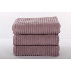 Eggplant Bath Towels