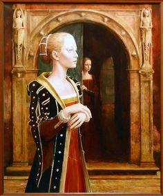 Kacper Kalinowski Tudor Fashion, Italian Renaissance, 15th Century, Art School, Latest Fashion, All About Time, Princess Zelda, Painting, Fictional Characters