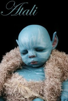 Reborn Doll - Avatar - Na'vi baby