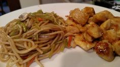 Orange Chicken and Chow Mein