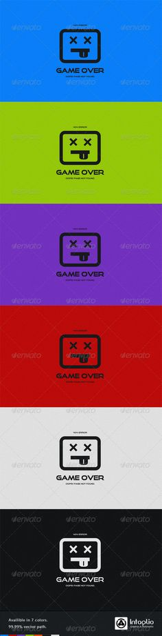Game Over 404 Error Page #GraphicRiver Game Over 404 Error Page Beautiful & professional looking 404 error page. This page is suitable for any kind of website specially websites related to gaming whether it is hardcore gaming, social or causual gaming.