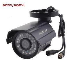 Security camera 800TVL IR Cut Filter 24 IR Day Night Vision Video Outdoor Waterproof IR Bullet. Click visit to buy