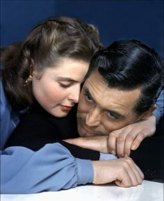 Ingrid Bergman and Cary Grant in Notorious (1946)