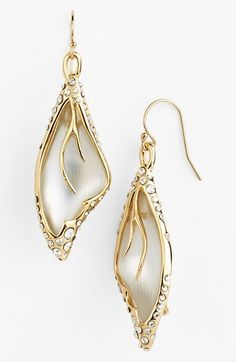Alexis Bittar Lucite Jardin Mystre Drop Earrings available at